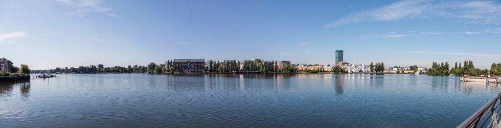 Flussszene Berlin